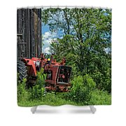 Works Waiting Shower Curtain
