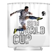 World Cup 2018 Shower Curtain