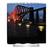 World Heritage Site At S Q Shower Curtain