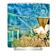 World In My Eyes Shower Curtain