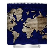 World News Shower Curtain