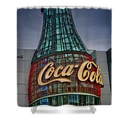 World Of Coca Cola Shower Curtain