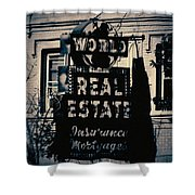 World Real Estate Chicago Shower Curtain