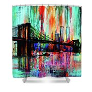 World Trade Center 01 Shower Curtain