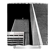 World Trade Center Pillars Shower Curtain