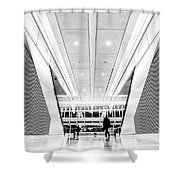 World Trade Center Transportation Hub, Lower Manhattan New York Shower Curtain