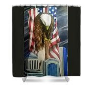 World Trade Towers Shower Curtain