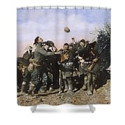 World War I: Armistice Shower Curtain