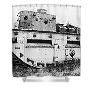 World War I British Tank. For Licensing Requests Visit Granger.com Shower Curtain by Granger