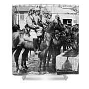 World War I: German Army Shower Curtain