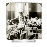 World War I: Nurse Shower Curtain