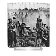 World War I: Russians 1914 Shower Curtain