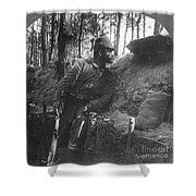 World War I: Soldier Shower Curtain