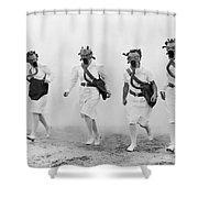 World War II: Nurses Shower Curtain