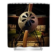 World's First 'fighter' Aircraft 1914 Shower Curtain