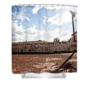World's Longest Map Of Route 66 Shower Curtain