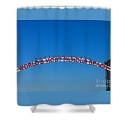 World's Most Famous Beach Shower Curtain