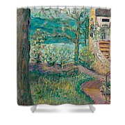 Worman House At Big Cedar Lodge Shower Curtain