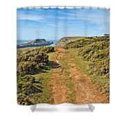 Worms Head Shower Curtain