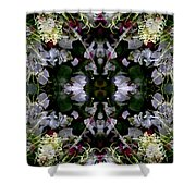 Wornhole Mandala Shower Curtain