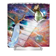 Worship In Spirit And In Truth Shower Curtain