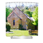 Worship In Wollombi Shower Curtain