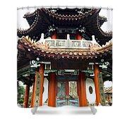 Worship Temple Shower Curtain