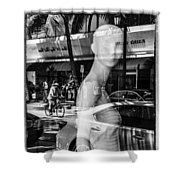 Worth Ave Reflections 0484 Shower Curtain