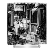 Worth Ave Reflections 0509 Shower Curtain