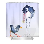 Would You Marry Me Shower Curtain