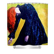 Wound Down Shower Curtain