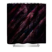Wounded Lamb Shower Curtain