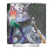Wow Universe Shower Curtain