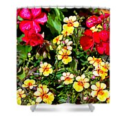 Wp Floral Study 1 2014 Shower Curtain