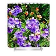 Wp Floral Study 2 2014 Shower Curtain