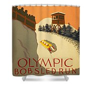 Wpa Olympic Shower Curtain