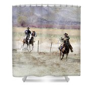 Wrangling # 24 Shower Curtain