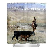 Wrangling # 92 Shower Curtain