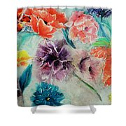 Wrap It Up In Spring By Lisa Kaiser Shower Curtain