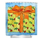 Wrapped Gift Shower Curtain