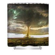 Wray Colorado Tornado 070 Shower Curtain