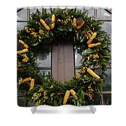 Wreath Shower Curtain