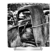 Wrecking Yard Study 11 Shower Curtain