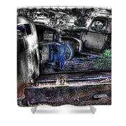 Wrecking Yard Study 12 Shower Curtain