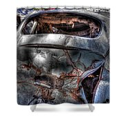 Wrecking Yard Study 2 Shower Curtain