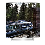 Wrecking Yard Study 22 Shower Curtain