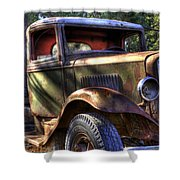 Wrecking Yard Study 24 Shower Curtain