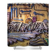 Wrenches Galore Shower Curtain