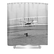 Wright Brothers, 1903 Shower Curtain