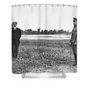 Wright Brothers, 1909 Shower Curtain